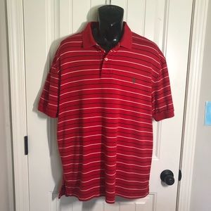 Polo by Ralph Lauren men's X large red stripe